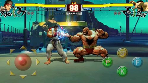 Street Fighter IV HD Mod Apk Data